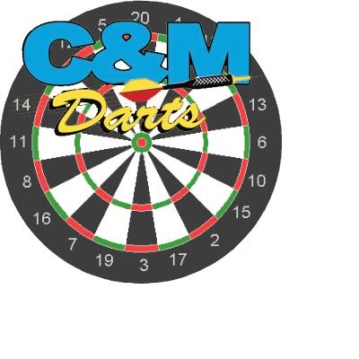 c&m dart with board copy
